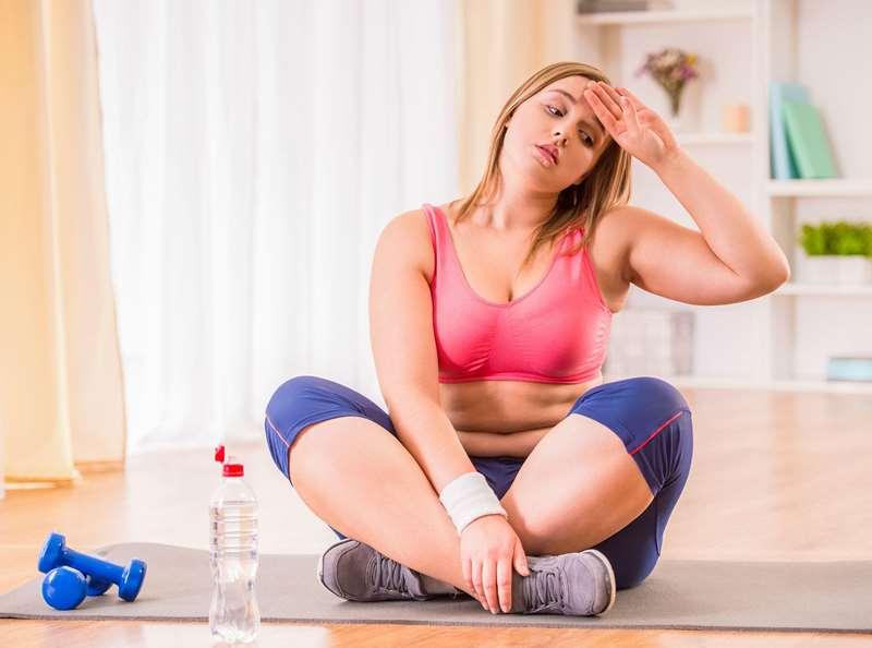Быстрое похудение с помощью физических нагрузок