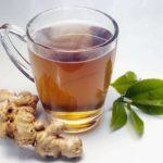 Зеленый и имбирный чай для похудения