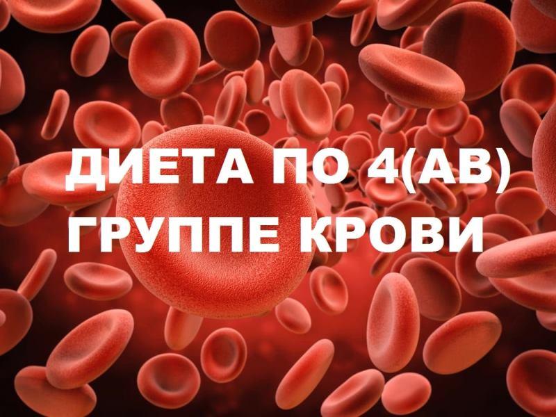 диета по группе крови 4