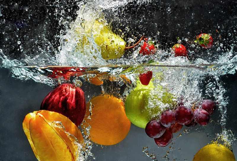 употребление свежих овощей и фруктов